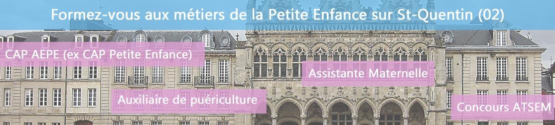 Ecole de Formation petite enfance sur St-Quentin