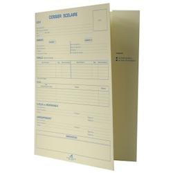 Dossier scolaire papier cartonné
